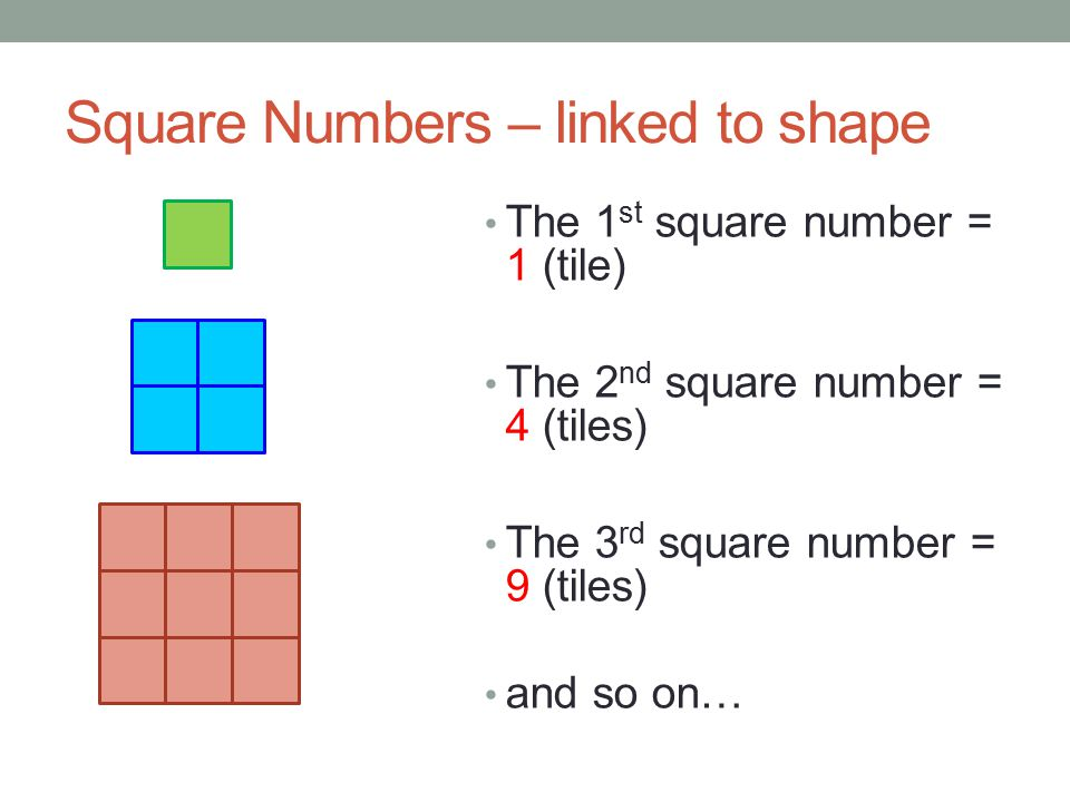 how to find the 11th square number