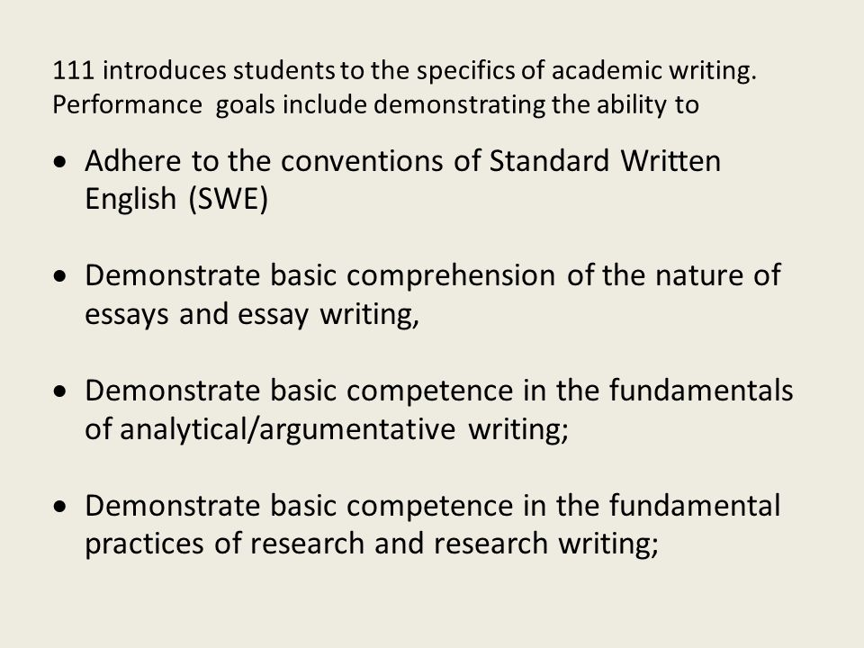 academic essay conventions Conventions of academic writing what are conventions written and unwritten rules that may be broken—but with a penalty powerful social/economic/political forces.