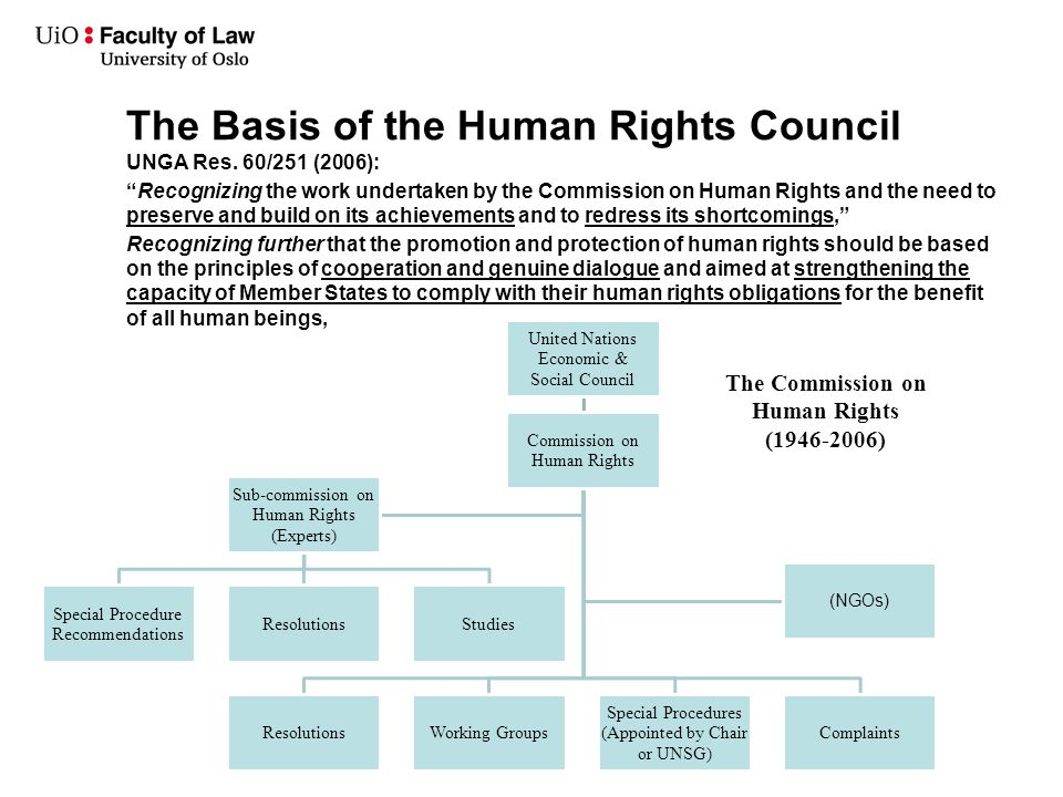 an introduction to the document the sub commission on the promotion and protection of human rights Human rights are norms that help to protect all people everywhere from severe   (united nations, 1948b) and the many human rights documents and treaties that   be made to them has become a sub-field of political and legal philosophy with  a  system for the promotion and protection of human rights 1.