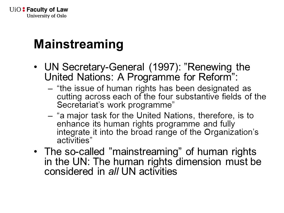how to get into human rights law