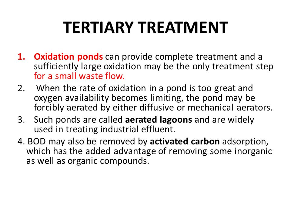 Introduction to environmental engineering ppt video for Design of oxidation pond ppt