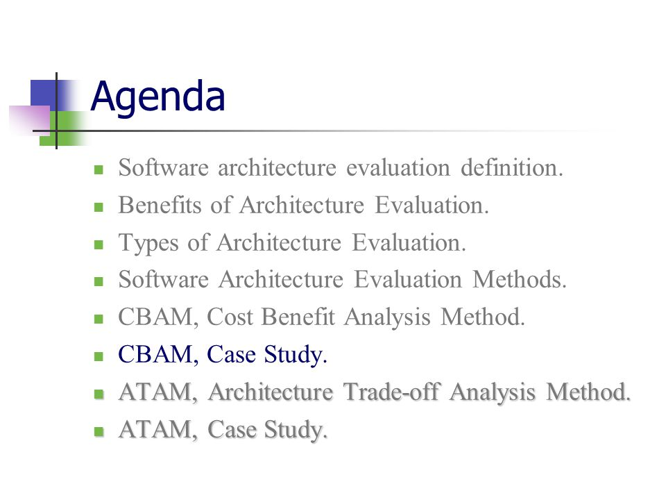 Software architecture evaluation ppt download for Definition architecture