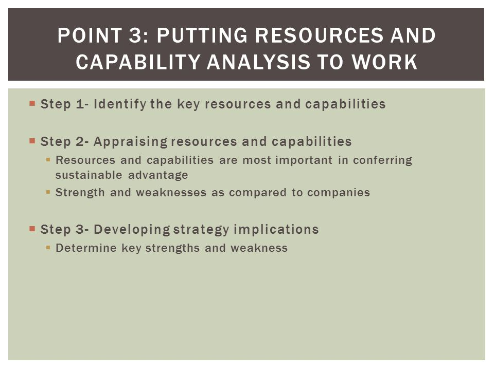 key resources and capabilities of zara Zara's 'fast fashion' business model a company use the resources it has to make money zara's key to the process lies in zara's skill at tuning.