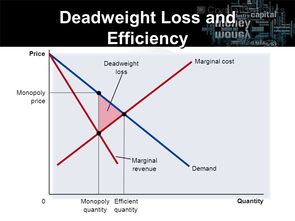 Deadweight Loss and Efficiency