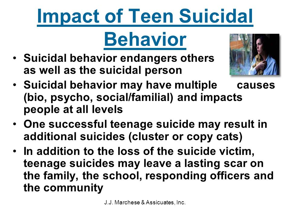 teen suicidal behavior