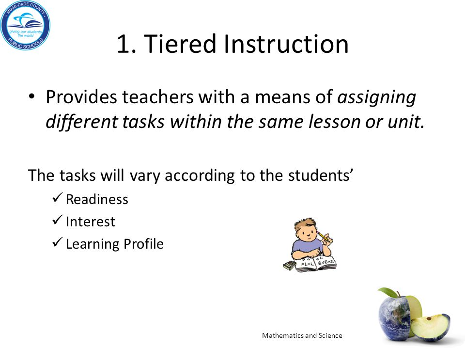 activities to teach teachers about differentiated instruction