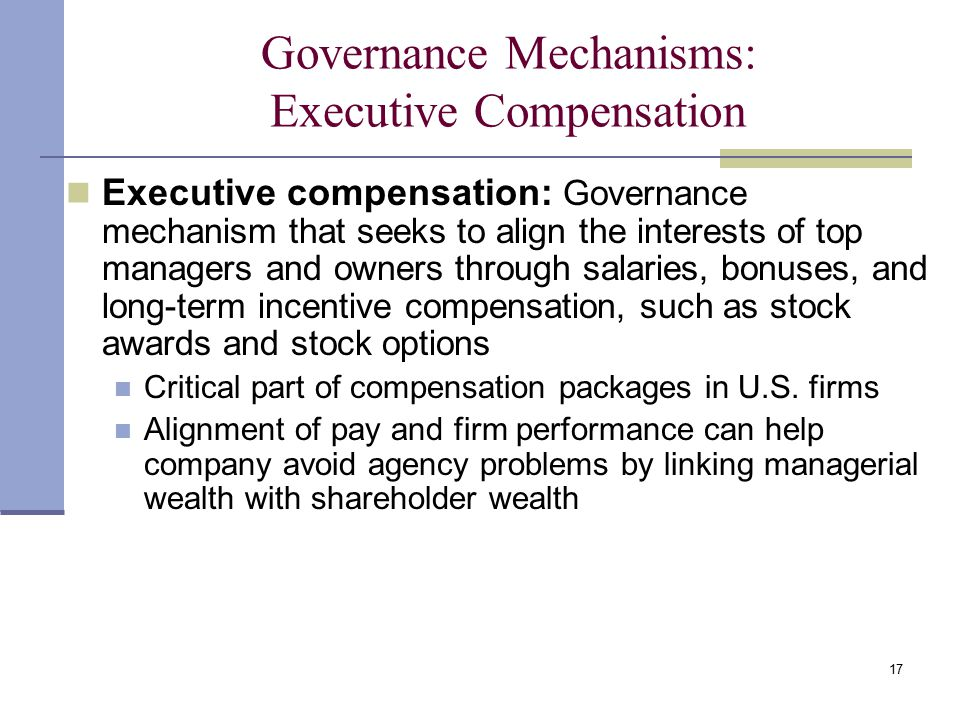 whats wrong with executive compensation The theory behind incentive compensation is money motivates employees to perform well unfortunately, many contractors spend a lot of.