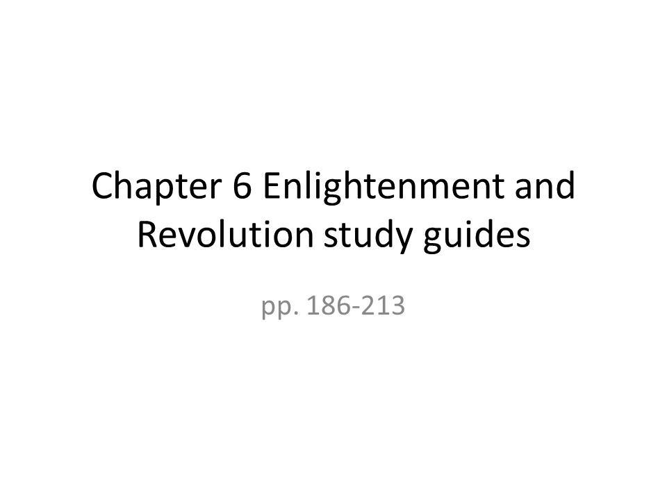 Candide and the Enlightenment: Study Guide