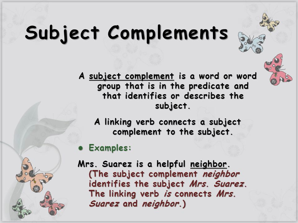 how to make complement of a in word