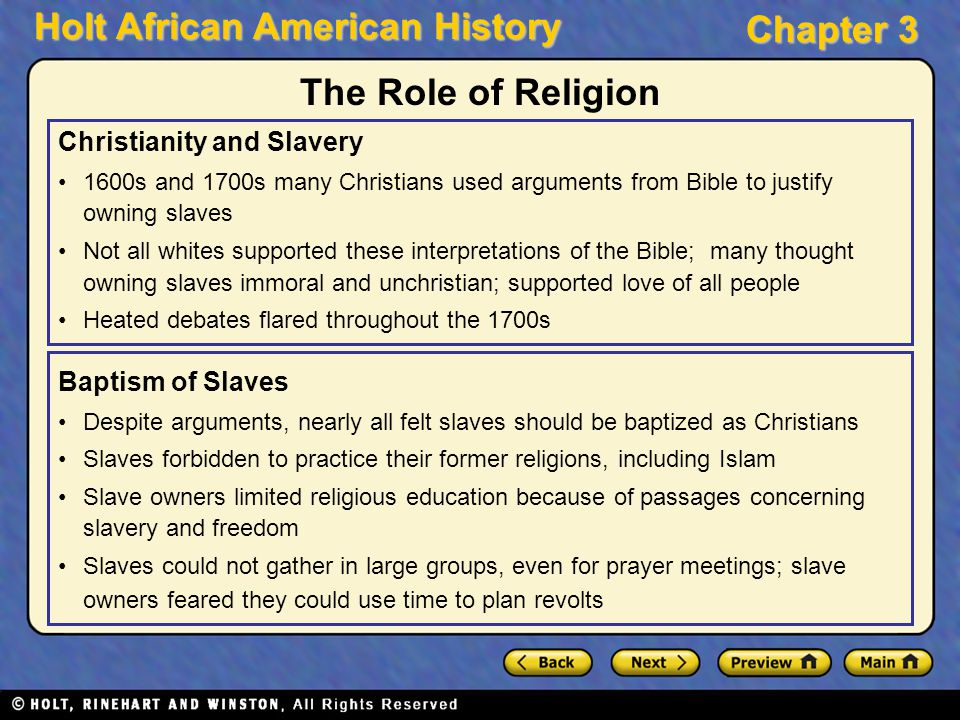 justification of american slavery They used the bible, science, and even history to justify their stance on slavery  here are their arguments and how they used the past to.