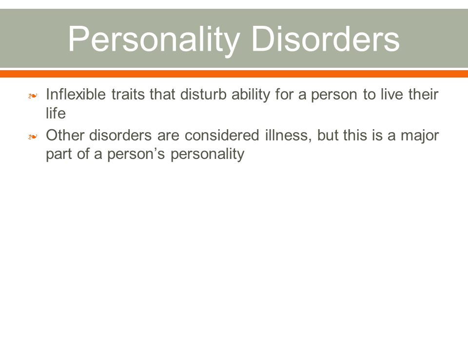 the complications of paranoid personality disorder In order to gain a complete understanding of paranoid personality disorder one  has to define the disorder by separating the terms a persons.