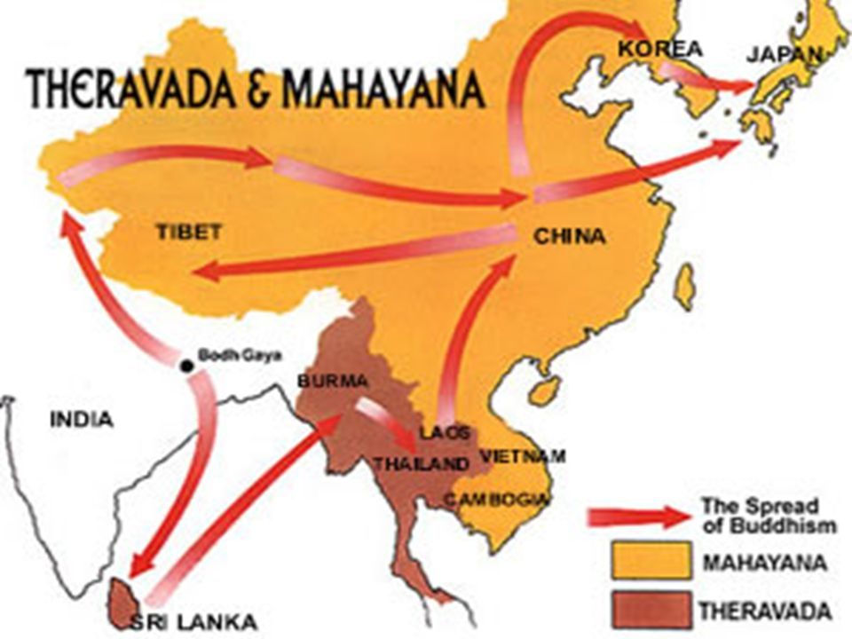 spread of buddhism Here is a list of the spread of buddhism beyond the indian subcontinent during the formative centuries: 3rd century bce: buddhism is brought into sri lanka by.