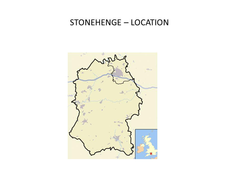 STONEHENGE  LOCATION Stonehenge is a prehistoric monument located