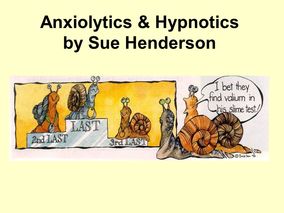 anxiolytics & hypnotics by sue henderson - ppt download, Skeleton