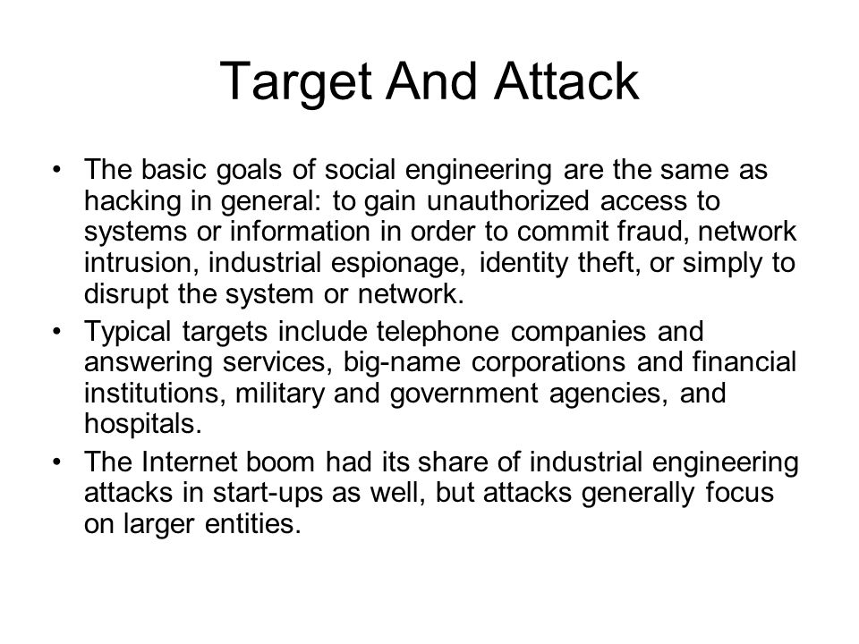 Target And Attack