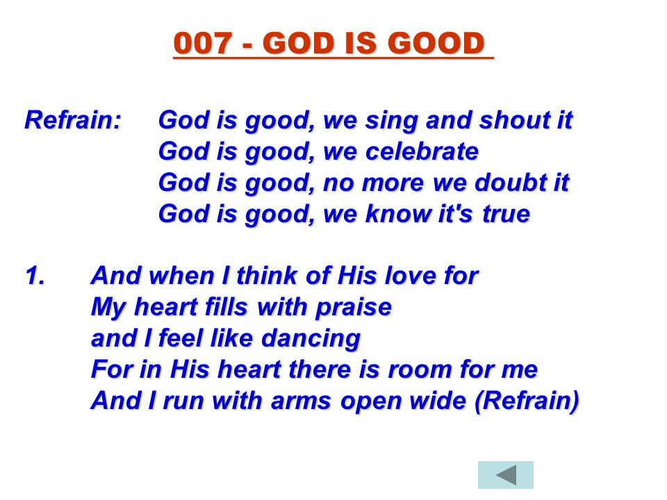 god is good we sing and shout it mp3 download