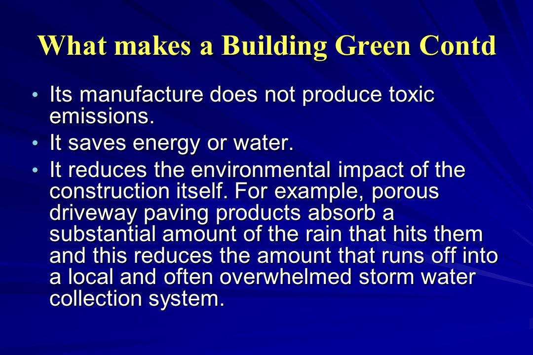 Green Building It S Materials And Ways To Make It