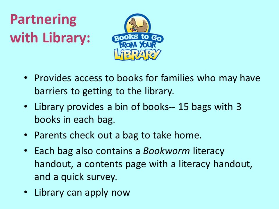 Partnering with Library: