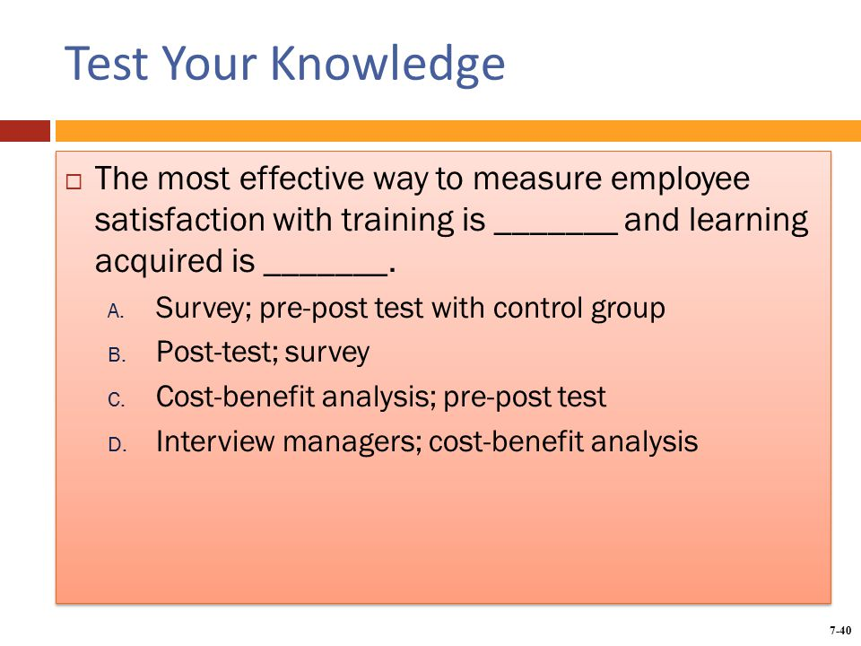 training a cost or benefit What was a successful training program yesterday may not be a cost-effective program tomorrow  if you need to convert training program benefits to financial .