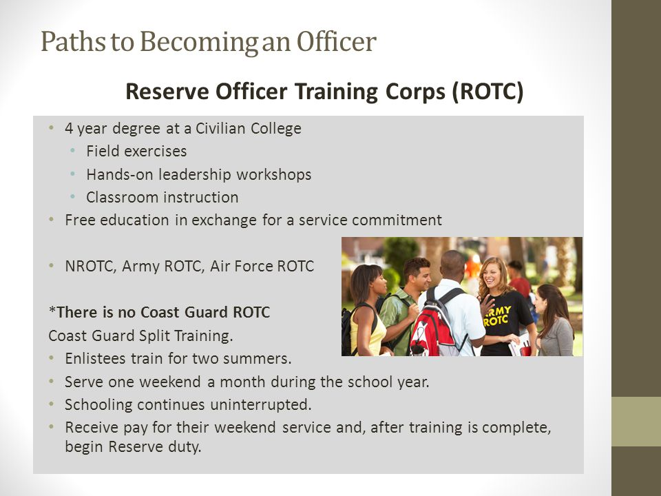 Requirements benefits training american soldier ppt - How to become an army officer after college ...