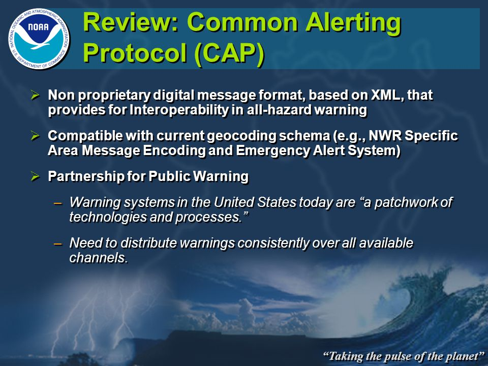 Watch Warnings In Cap Nws Partners Meeting Ppt Video