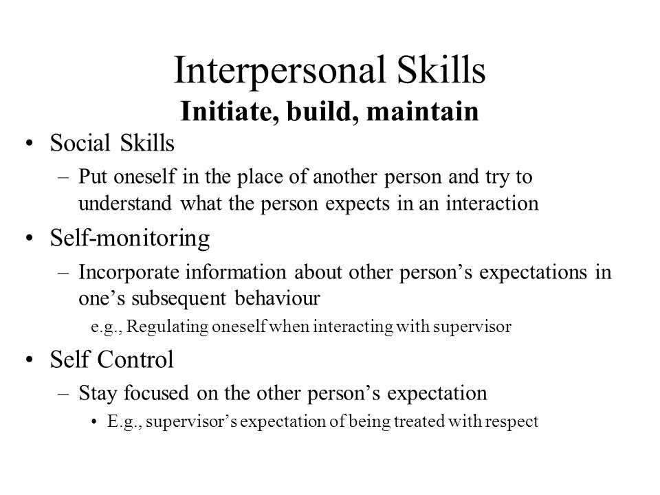 how to build social skills