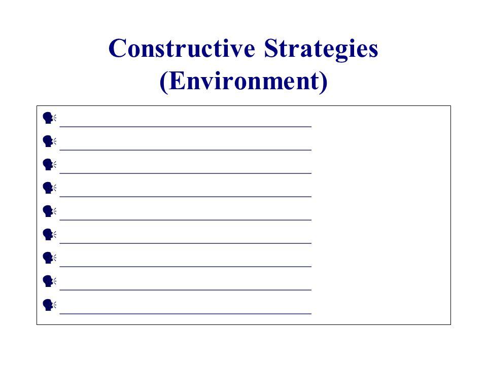 constructive strategy Strategies for providing constructive feedback supervisors' meeting beth  konde ms, otr/l january 14, 2015.