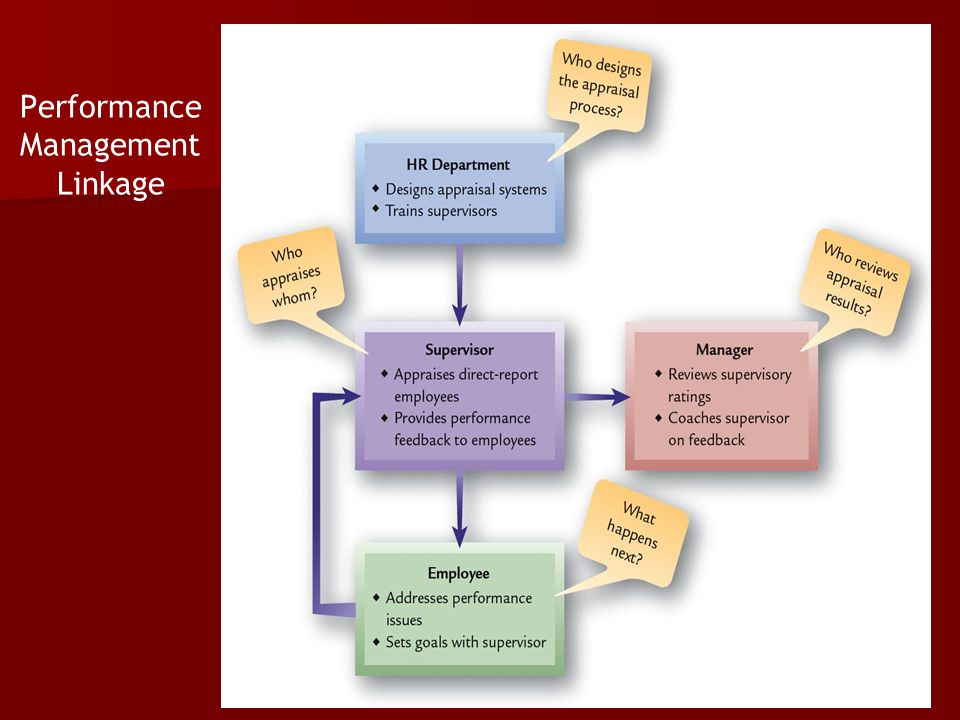 Performance Management Linkage