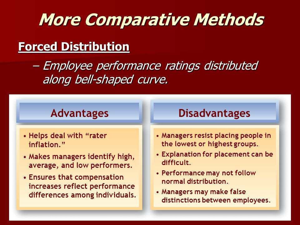 More Comparative Methods