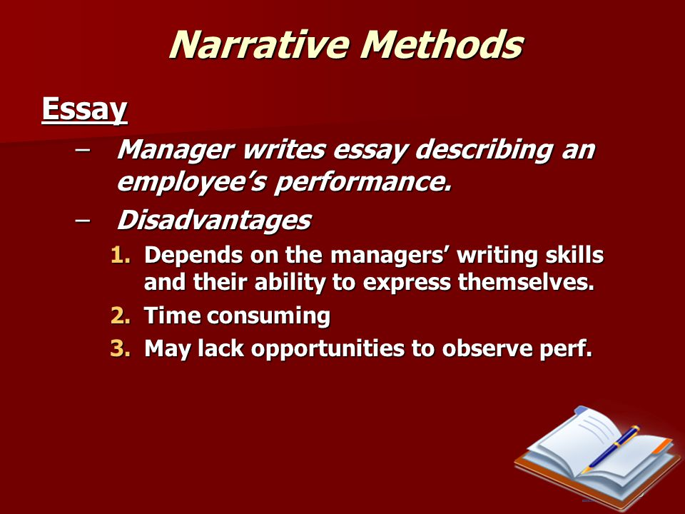 Narrative Methods Essay