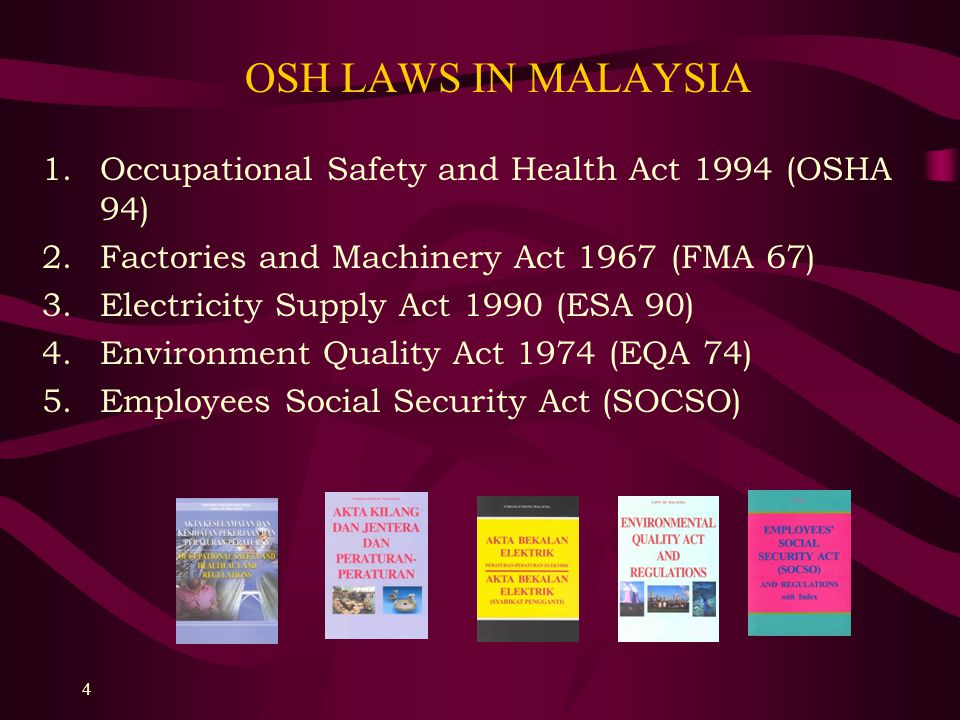 Occupational safety and health and social