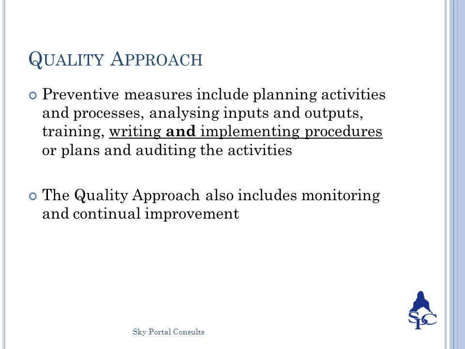 How to Write Good Quality Objectives