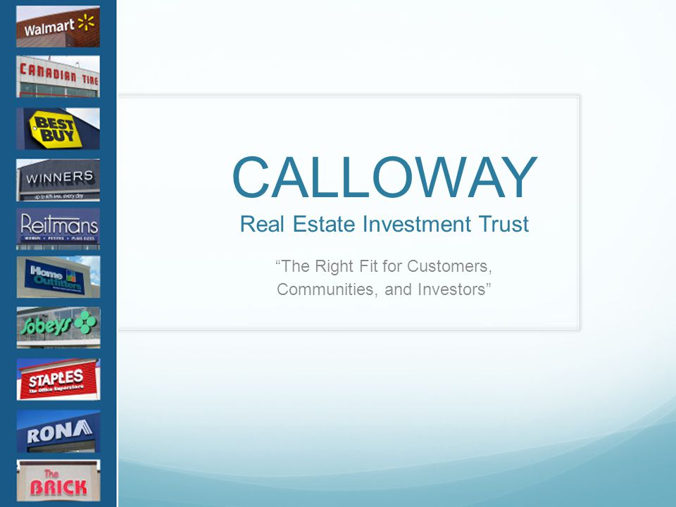 Real Estate Investment Trust : Real estate investment trusts ppt download