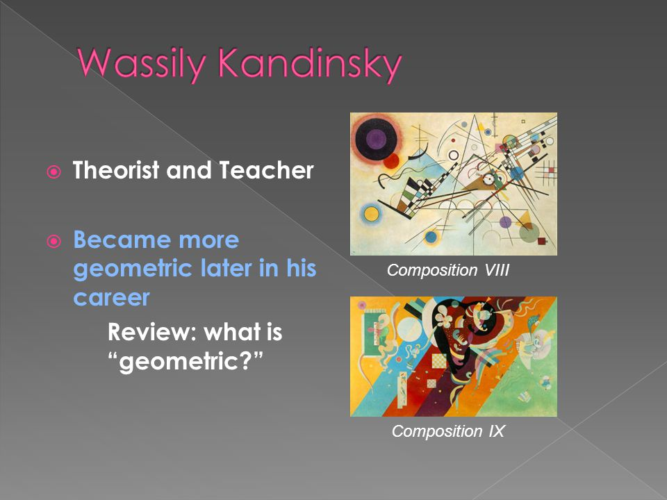 Wassily Kandinsky Theorist and Teacher