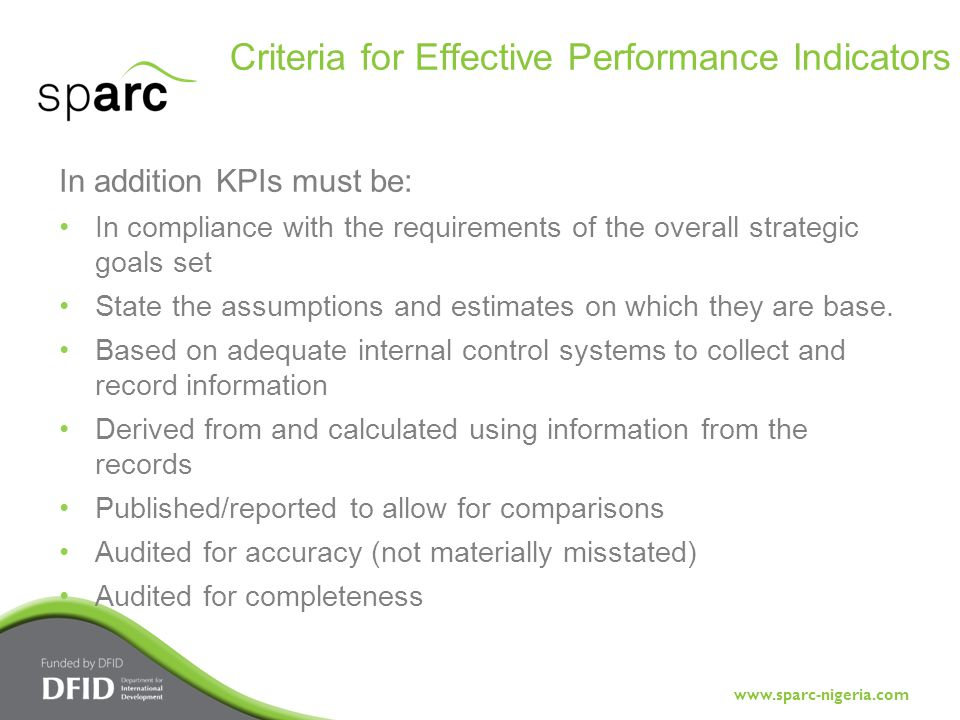 criteria for effective goals One method of setting goals, particularly in the okr process, is to use smart  goal-setting guidelines they serve as a reminder to  for goals to meet smart  criteria, they must be  thank you effective goal alignment and management.