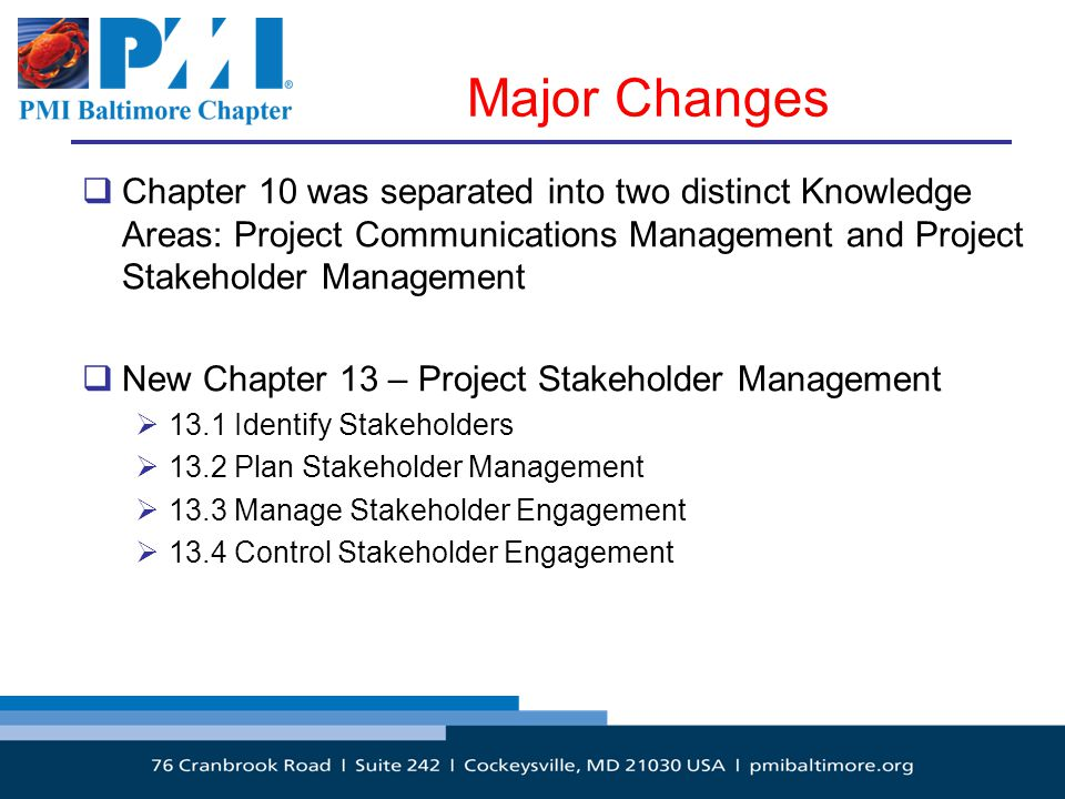 PMBOK Version 5 – What are the Changes? - ppt download