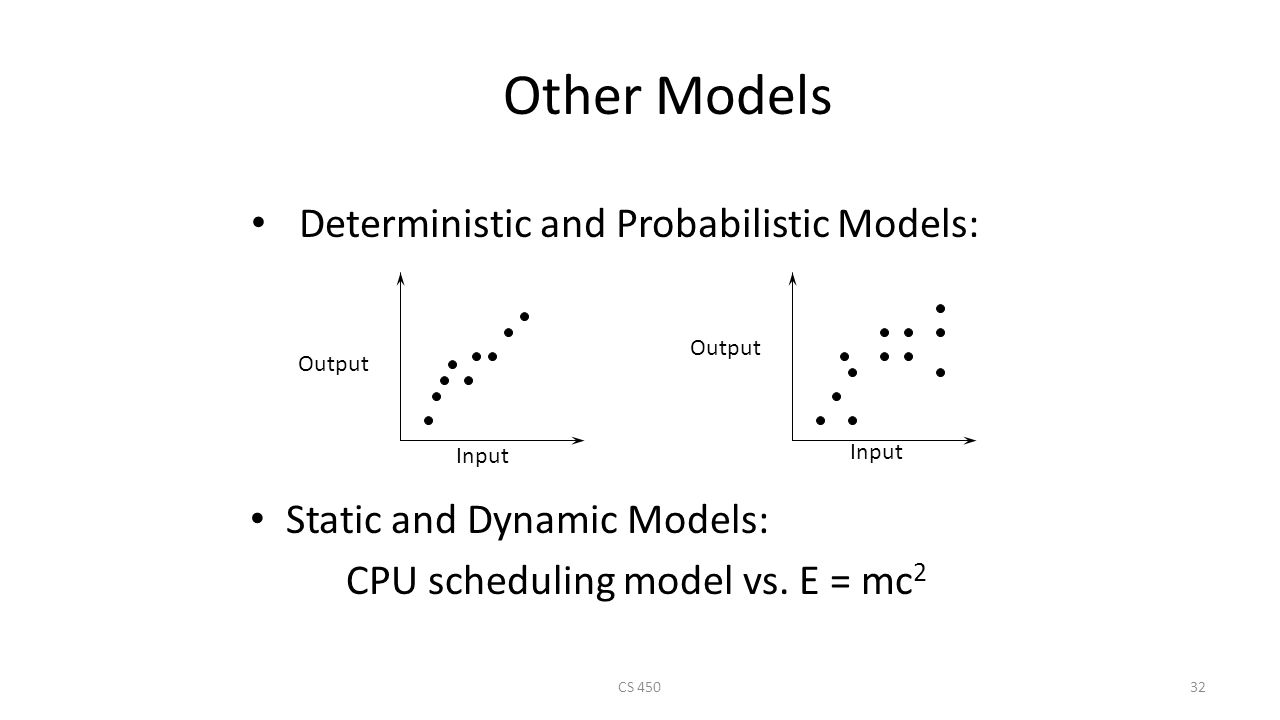 probabilistic and deterministic relationship