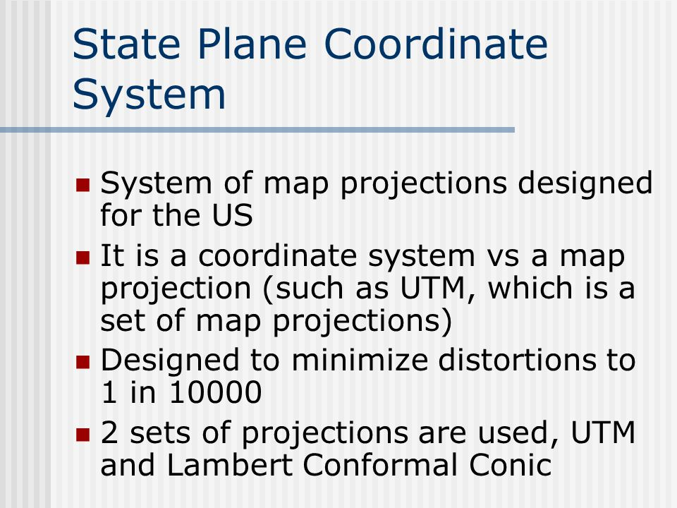 Us Coordinate Map Globalinterco - What map data to use with utm in us