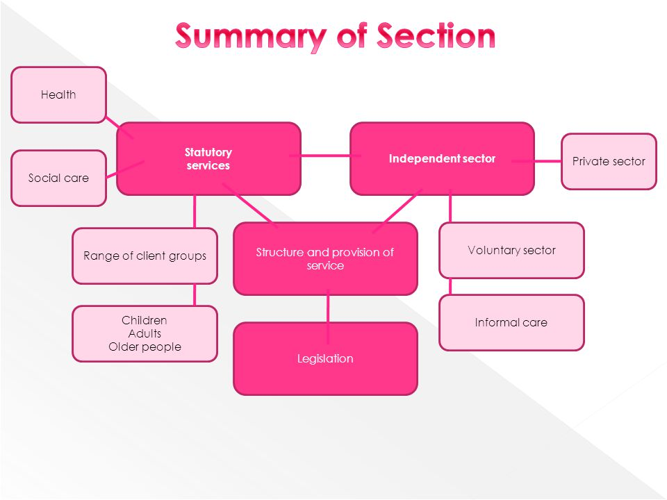 summary of structure in human service And be exposed to an overview of the human service profession the course   as the instructor, i will construct the structure for our learning experience and will.