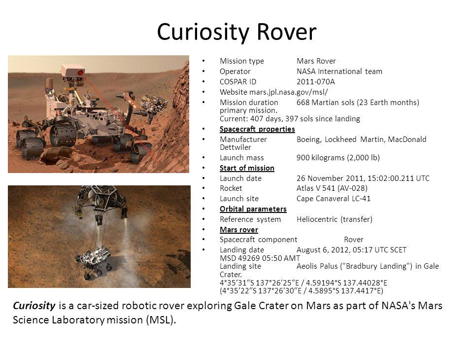 mars rover curiosity landing date - photo #29