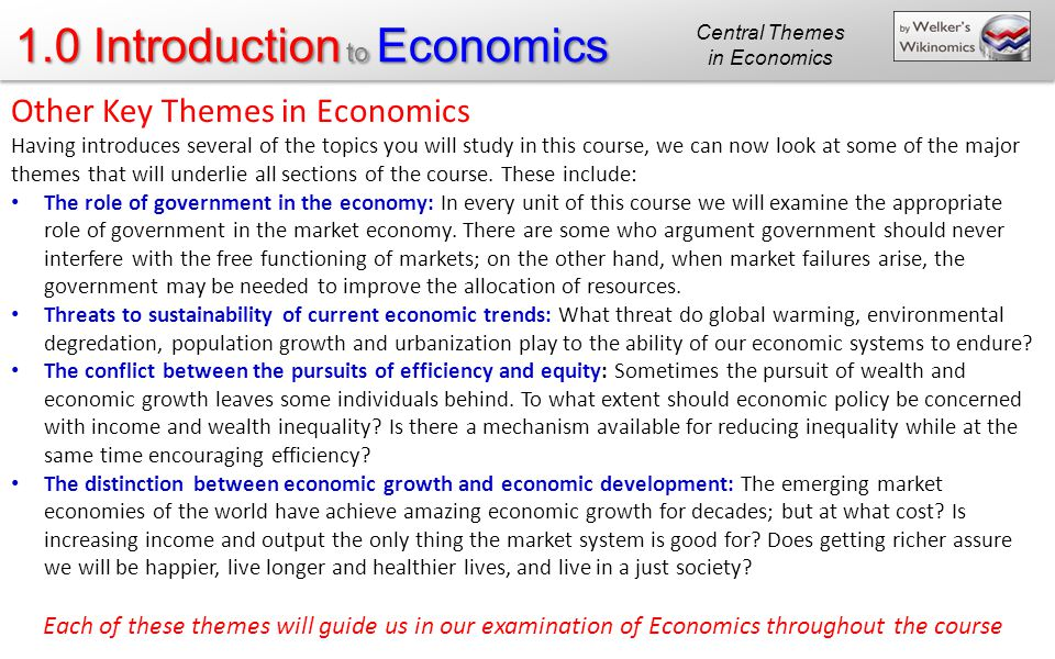 scarcity and the science of economics study guide