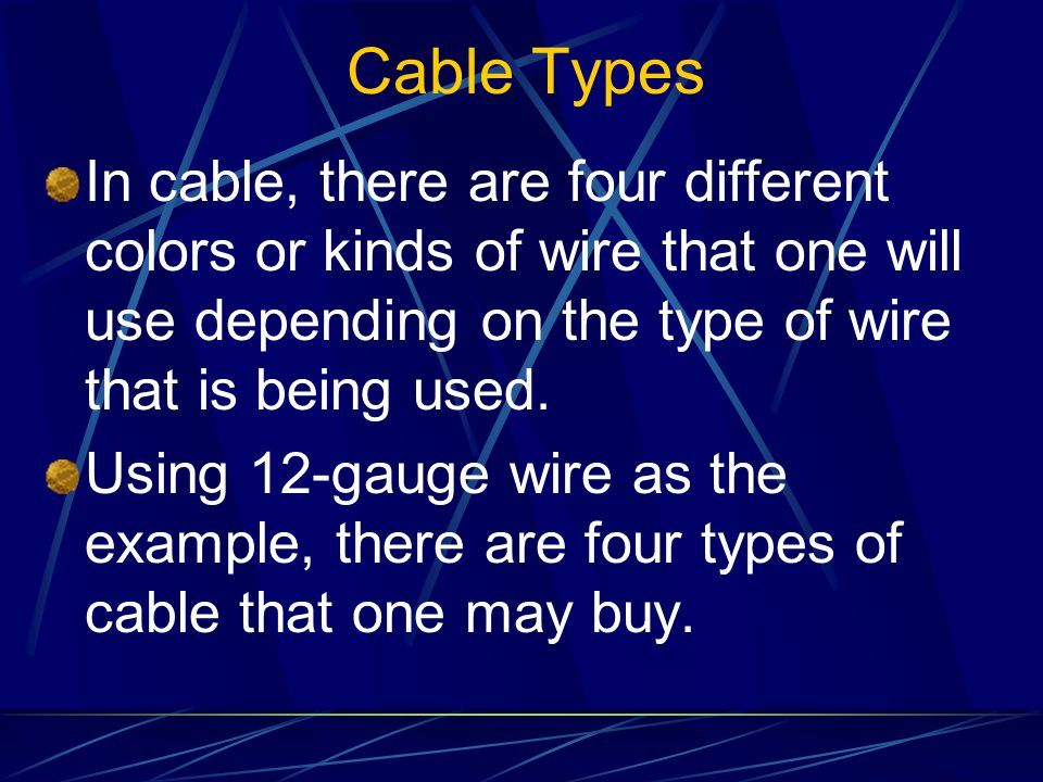 Preparing and Using Schematics for Wiring Applications Using Cable ...