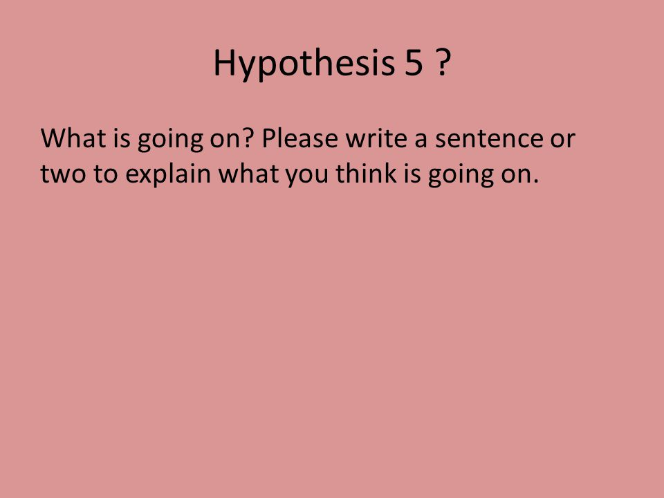 how to write a explain question