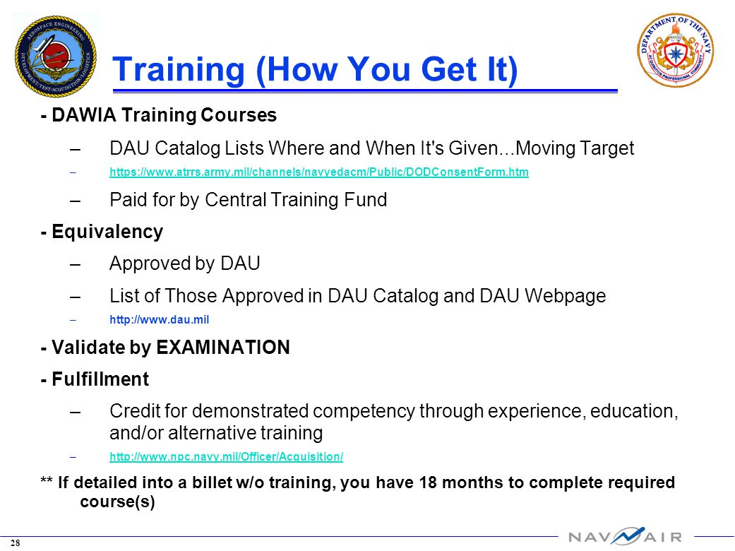 how to get dawia certification