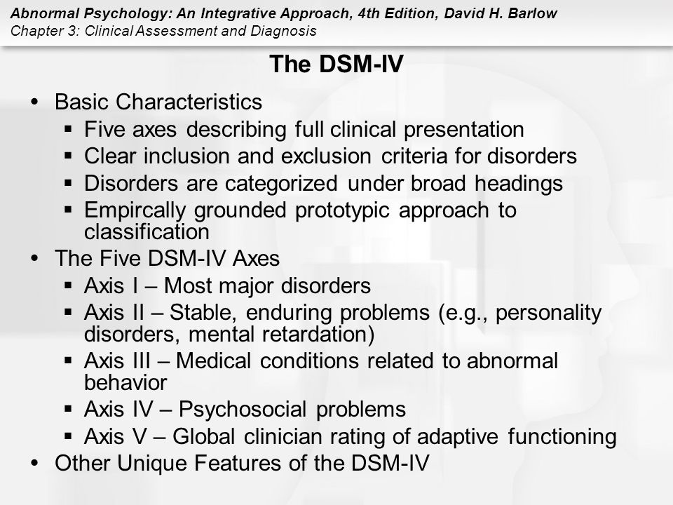 a dsm iv diagnosis as applied to The source menu search for: search topics dsm-iv diagnosis applies equally well for caucasian and african-american gamblers school of engineering & applied.