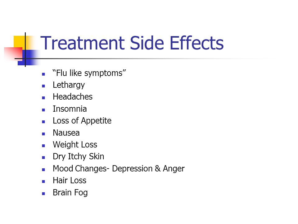 Treatment Side Effects