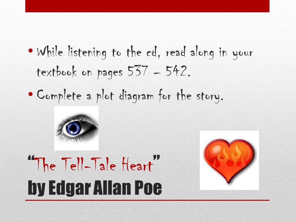 an psychoanalytical approach to edgar allan poes story the tell tale heart A psychoanalytical approach to edgar a poe's short story 'the tell-tale heart'  authors : josé antonio núñez abstract : sigmund freud's theory of.