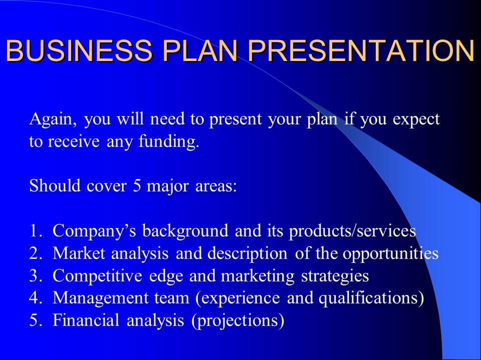 How to Write a Business Plan for a Small Business 14 Steps