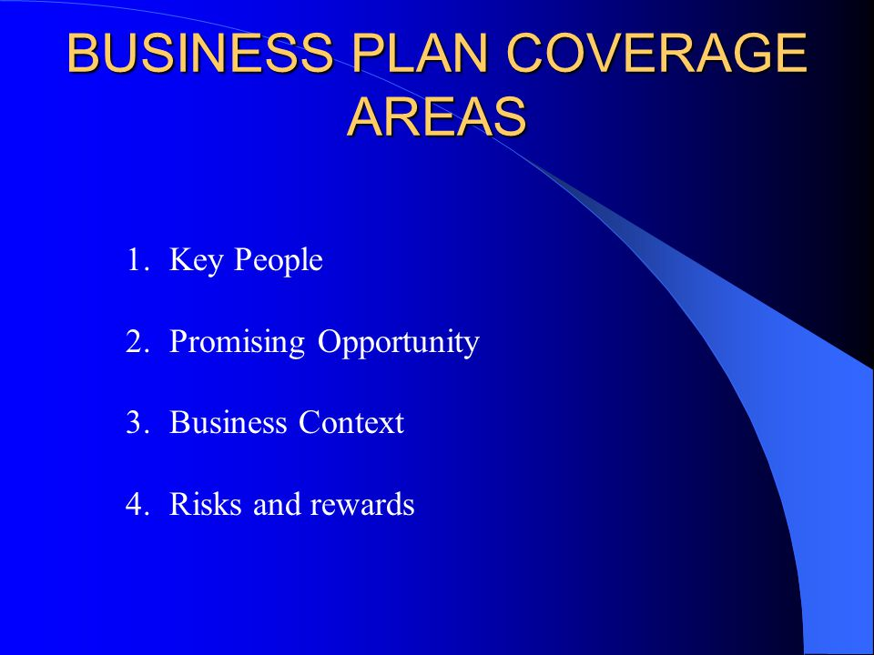 Areas business plan
