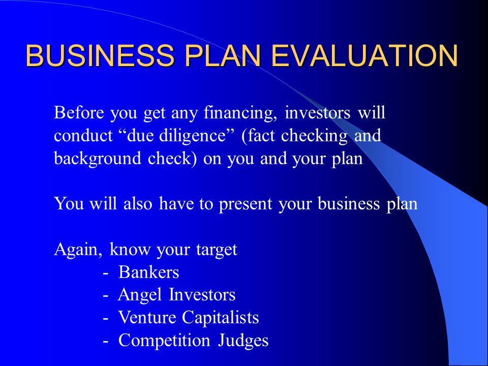 Business Plan Slides
